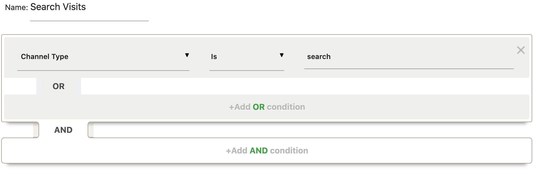 Search Segment