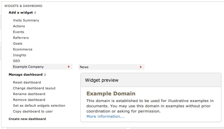 Example Widget
