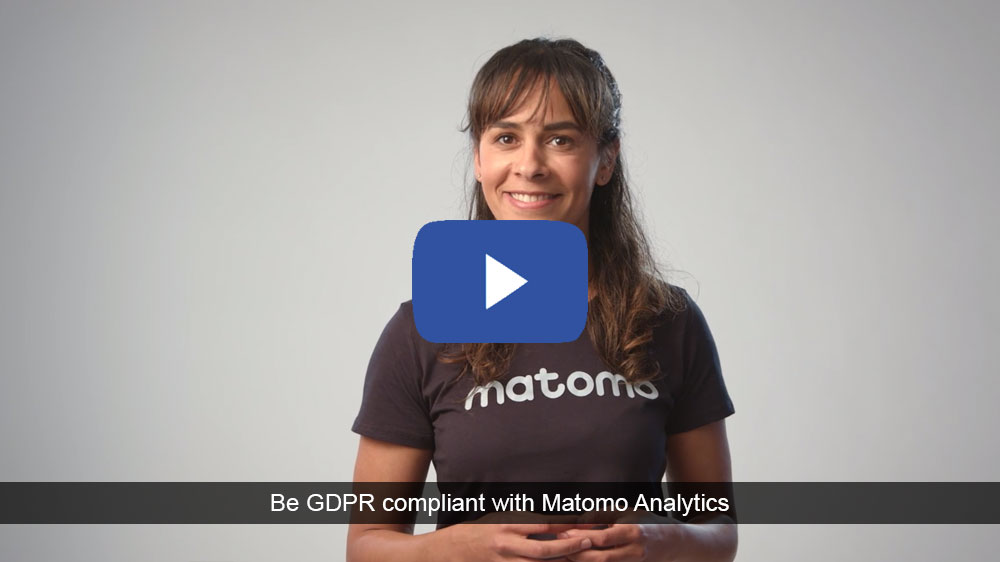 Learn how to become GDPR compliant with Matomo Analytics