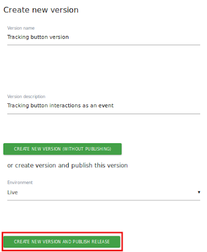 Matomo event tracking tag manager